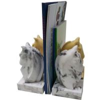 Buy cheap Durable Antique Concrete Horse Bookends / Hotel Ware Homemade Bookends product