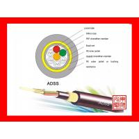 Buy cheap Typical all dielectric self-supporting fiber optic  cable(ADSS) from Wholesalers