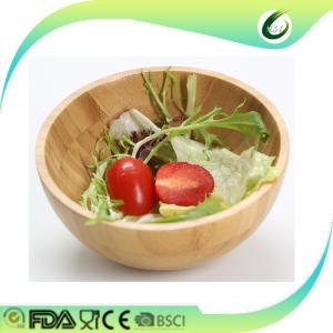 China luxury bamboo fruit salad bowl on sale