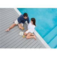 Buy cheap Grey WPC Composite Decking Board / Outdoor Floor Decking Tiles product