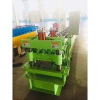 Hydraulic Ridge Cap Roofing Roll Forming Machine Cap Roof Machine With 3kw Motor Power