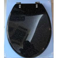Buy cheap Gilliter polyresin toilet seat  cover,decorate toilet seat,transparent toilet seat product