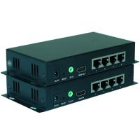 Buy cheap Long Length 1080P HDMI Fiber Extender IR Remote Control With 0-20KM Distance product