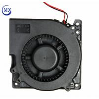 Buy cheap 24 V Motor 4.68 Inch Dc Blower Fan , High Speed Exhaust Blower Air Cooling product