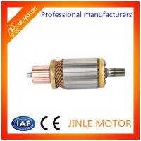 Buy cheap JINLE 100% Copper Wire 24 Volt Starter Motor Armature / Starter Motor Assembly product