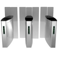 Electronic sliding turnstile security systems airport