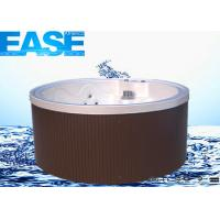 Acrylic Mini Round Massage Bathtub Thermostat System