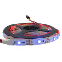 Buy cheap APA102 Digital Addressable Rgb LED Flexible Strip Lights APA102C IC Built In product