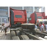 Buy cheap 290HP Prime Mover Truck 30 - 40 Tonne Load Left Hand Drive 80R22.5 Tire product
