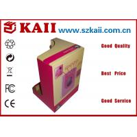 Buy cheap Recycled Custom Corrugated Paper Box For Cloth Packing / Wood Free Paper product