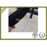 Buy cheap Black Color FTTH Fiber Optic Cable Non - Metal Strength Member With LSZH Outer Jacket product