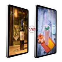 Buy cheap TFT Wall Mounted Digital Signage IR Remote Control Dustproof Digital Photo Frame product