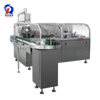 Buy cheap 220/380V Box Packing Machine , Automatic Carton Machine Connect With Blister Machine product