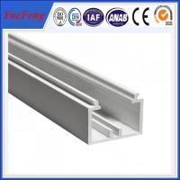 China YueFeng china factory white powder coated aluminium channel price per kg on sale