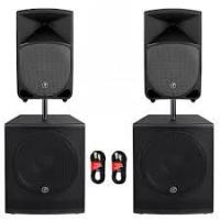 Buy cheap 174-270MHz 8'' woofer high power Digital best Active PA Speakers with volume adjust product