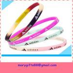 Buy cheap free design thin baseball silicone bracelets product