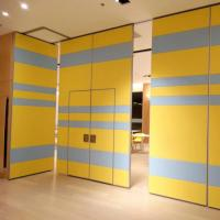 Buy cheap Acoustic Movable Conference Room Partitions / Folding Office Partition Wall from wholesalers