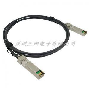 China 3m  SFP10G-CU3M Compatible SFP+ to SFP+ Passive Direct Attach Copper Cable PVC&LSZH,Support OEM on sale