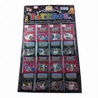 Buy cheap Nontoxic Tattoo Stickers, Made of PVC and PE Materials, OEM Orders are Welcome product