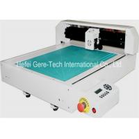 China High Frequency Automatic Label Die Cut Sticker Machine HPGL Format 346*516mm on sale