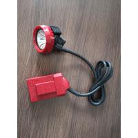 Quality High Powered LED Coal Miners Headlamp Explosion Proof With Rechargeable Battery for sale