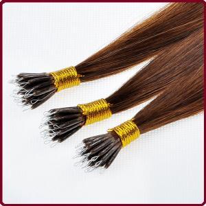 Buy cheap 100% Human Hair KeratinHair Extension product