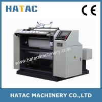 Buy cheap Automatic NCR Paper Reel Slitting Rewinding Machine,Thermal Paper Slitter Rewinding Machine,Bond Paper Slitting Machine product