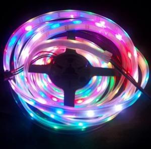 China High bright magic color digital led strip light 30led/m 30IC built-in LED on sale