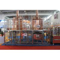 Buy cheap Copper Craft  Small Beer Factory Equipment , 100L Mini Beer Making System product