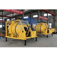 Buy cheap 5.5kw Self Loading Transit Mixer, Bipyramid Reversed Discharge JZR350T Diesel Cement Mixer product