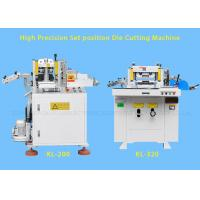 Buy cheap Hydraulic Industrial Flat Bed Die Cutting Machines With Punching , Hot Stamping product
