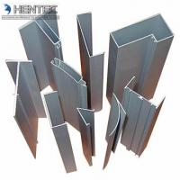 Buy cheap Natural Color extruding aluminum  Alloy 6063 / 6061 / 6005 T5 T6 for  industrial filed product