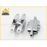 Buy cheap 180 Degree Adjusted Invisible Door Hinges Support Copper / Brass Finishing product