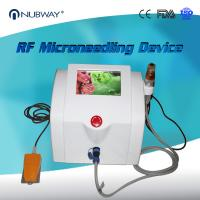 Buy cheap Nubway Scar Removal Skin Tightening Fractional RF Micro Needle Machine product