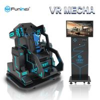 Buy cheap 0.7KW 9D Virtual Reality Simulator Arcade Game Cinema Electric Crank Motion Platform product
