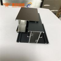 Buy cheap New design different surface treatment aluminum extrusion profiles for windows and doors product