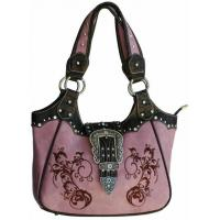 Buy cheap 2014 cowgirl western 3-set buckles crystal handbags factory product