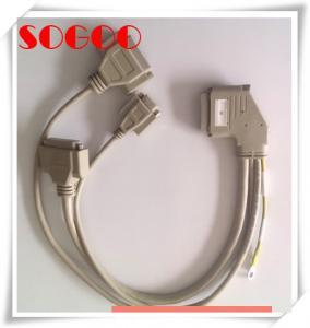 High Density Telecom Cable Assemblies Dh50 50 Pin For Zte 8200 Salt Mist Proof