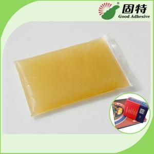 Buy cheap Light Amber Block Bookbinding Hot Melt Adhesive Glue , Animal Hide Glue product