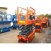 Buy cheap Movable Scissor Lift Extended Platform Hydraulic Aerial Access Platform product