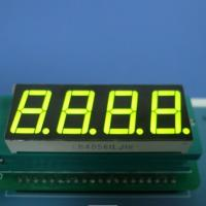 Buy cheap 4X7 Segment Led Display , Common Cathode Seven Segment Display Green 0.56 inch product