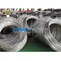 Buy cheap ASTM A269 Stainless Steel Coil Tubing , Super Long Cold Drawn Seamless Tube product
