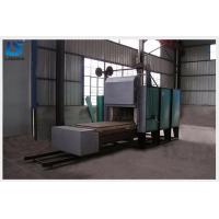 China Electric Trolley Type Industrial Heat Treatment Furnaces Low Power Consumption on sale