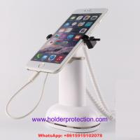 Buy cheap COMER cell phone clip security retail display with alarm sensor and charger cable product