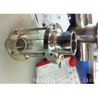 Buy cheap ASTM A270 Sanitary stainless steel 304 fittings sight glass for  for food, pharmaceutical and chemical industries from Wholesalers