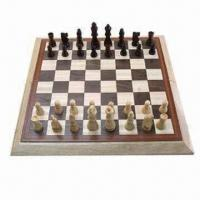 Buy cheap Wooden Chess Set, 3.5 inches, with Chess Board product