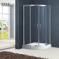 Buy cheap Polished Full Tempered Glass Shower Enclosure For Bath Good Insulating Properties product