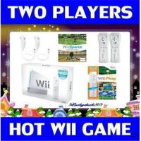 Buy cheap 1 NEW WII NINTENDO GAME CONSOLE SYSTEM 2 CONTRS W/GAMES from wholesalers
