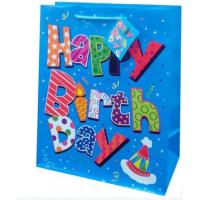Buy cheap Fancy birthday paper material packaging bags gift bags product