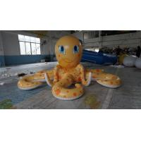 China 12m Giant Inflatable Advertising Products Outdoor Cartoon Inflatable Octopus on sale